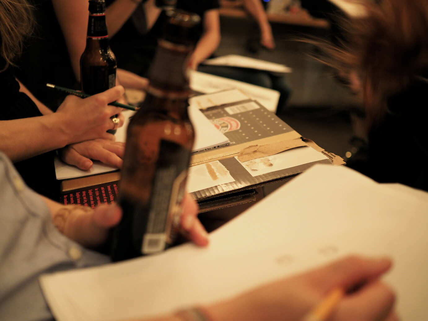 INSPIRED EXPERIENCE | DRINK N DRAW